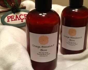 Orange, Cinnamon, Clove Lotion - 8oz
