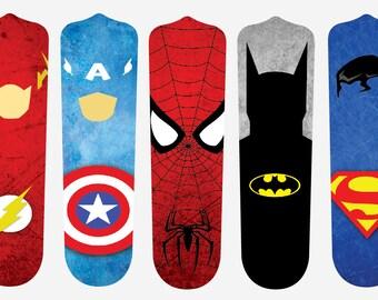 Super Hero Fan Blades