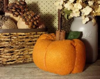 Decorative Stuffed Pumpkin