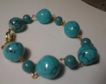 Robin Egg Blue Bracelet