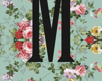 Vintage Floral Hen Party Bunting, Miss to Mrs