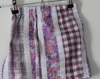 Little Girls Purple Skirt