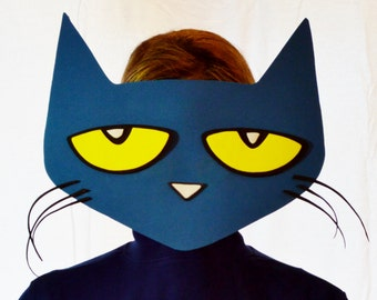 Pete The Cat Face Template Images & Pictures - Becuo