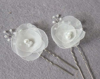 Bridal Hair Accessories, Bridal Headpiece, Flower Bridal Hairpiece, Bridal Hair Flower, Wedding Hair Accessories, Bridal Hair Pin