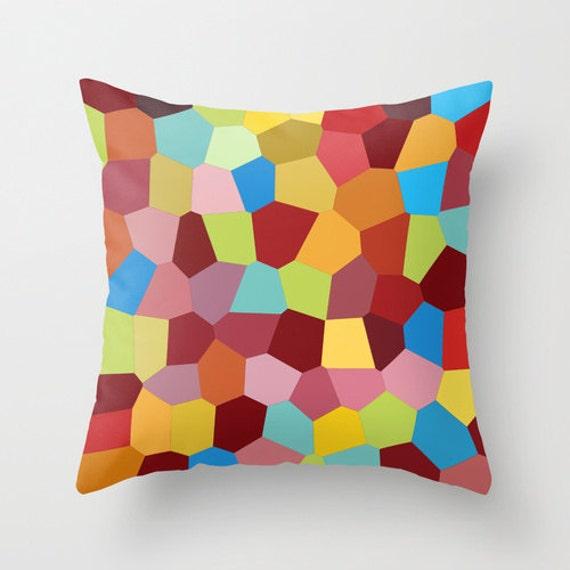 red pillows design