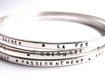 Customizable silver, waiting room, wife for an anniversary jewelry gift ring bracelets