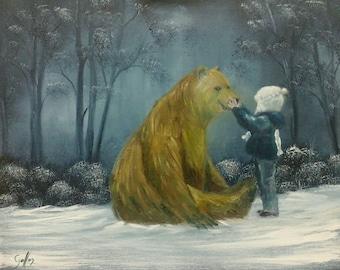 Aisha and the bear