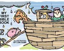 Bible Book Illustrations for Children. Wonderful illustrations to teach children about the bible.