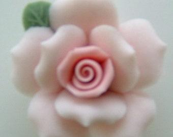 """Light Pink Porcelain Roses - 1"""""""