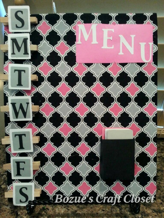 Busy Mom's Best Friend! Menu organizer, family meal planner ...