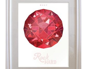 Birthstone Ruby: July