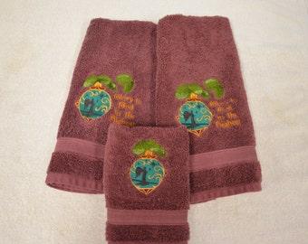 Christmas Ornament Towel - Glory to God!