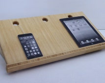 Salvaged Bamboo Plywood Charging Station