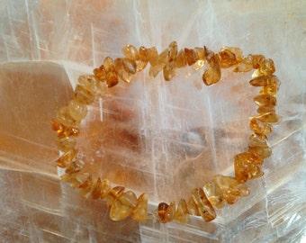 Citrine Crystal bracelet - Quartz bracelet - Amethyst bracelet - flourite bracelet