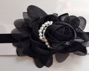 Flower Pearl Headband