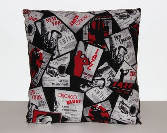 All That Jazz - Accent Pillow