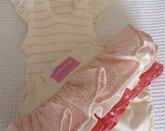 Baby Girl Ruffle Bloomers and Matching top