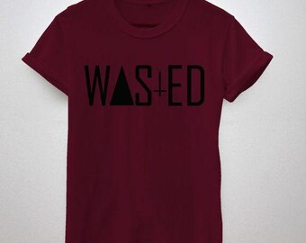 Indie Friday Night Wasted Youth Dope Graphic Tshirt