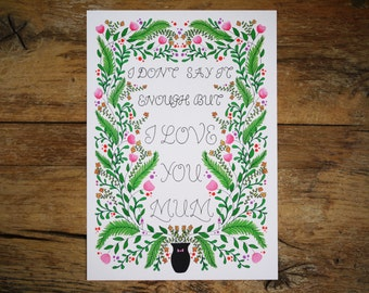 Mother's Day Flowers Print