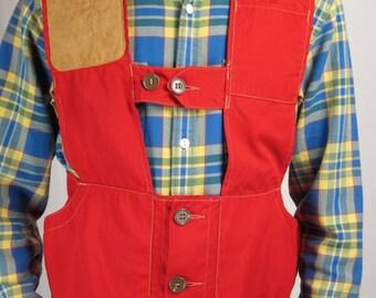 Vintage 1950s Bob Allen Gun Club Sportswear Vest