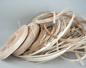 Basket Making Reed and Hoops