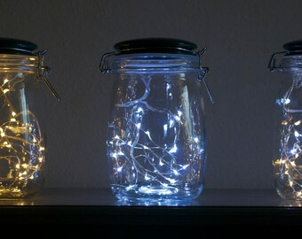 Firefly Jar Light **battery powered-entirely portable** by LightningBugLighting