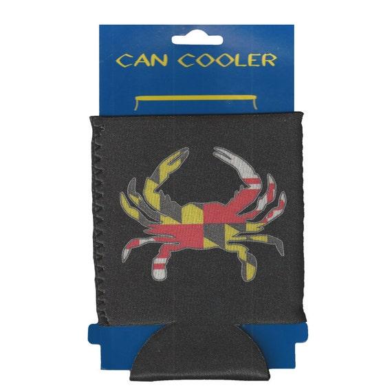 Maryland Flag Crab Koozie Maryland Crab Koozies