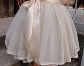 tulle skirt girls, Textured tulle skirt