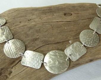 Artisan Sterling silver bracelet