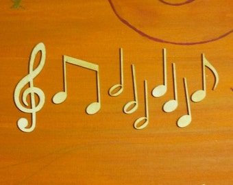 Note set 9 pieces clef eighth note double note half note quarter note for musicians table decoration gift