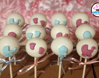 Babyshower Themed Gourmet Cake Pops