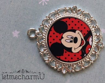 Mickey Mouse Pendant - Mickey Mouse Necklace - Mickey Necklace - Mickey Mouse Jewelry - Mickey Mouse Pendant - Mickey Mouse Necklace