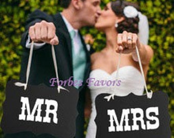 Mr & Mrs Photograph Boards