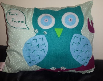 Owl on Branches. MADE TO ORDER.