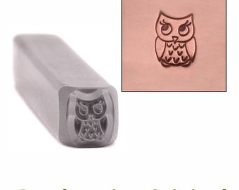 Baby Owl Metal Stamp 4mm x 5.5mm - Metal Stamping / Punch Tools for Metal Stamped DIY Jewelry, Jewelry Making Tools (DS396)