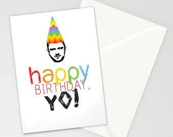 Breaking Bad Happy Birthday Jesse Pinkman Birthday Card