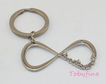 Infinity Keychain,One direction infinity keychain