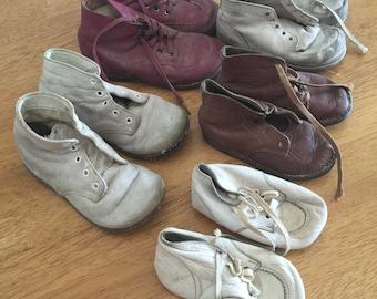 Vintage children's shoes