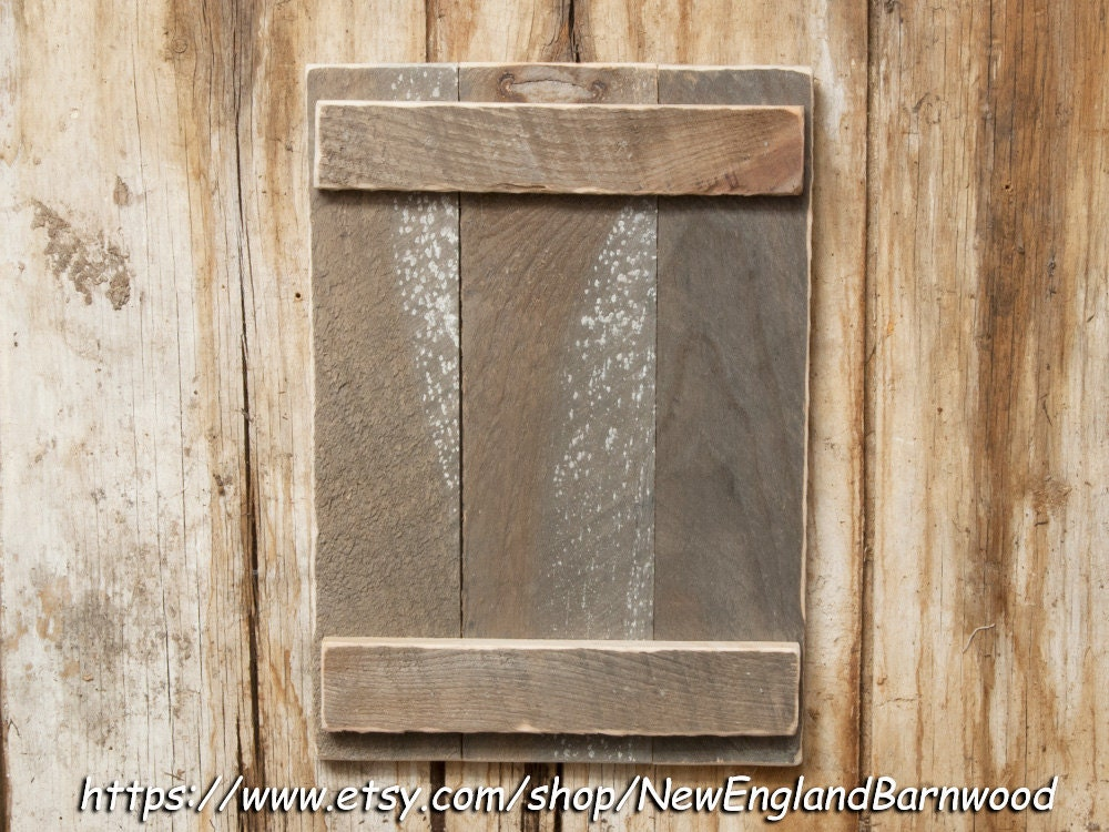 Handmade Rustic Wall Decor : Rustic wall decor handmade shutter style