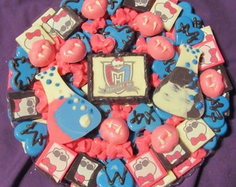 Monster High chocolate candy tray