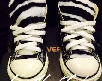 Zebra Converse Chuck Taylor Toddler Shoes