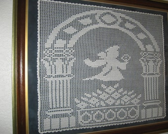 Crocheted Angel Picture