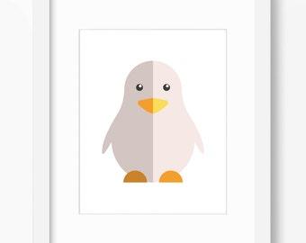 Baby Chick Print, Baby Chick Art, Nursery Art, Nursery Print, Nursery Chick Print, Nursery Chick Art, Kids Baby Chick Art, Nursery Chick