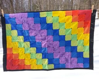 Rainbow Baby Quilt