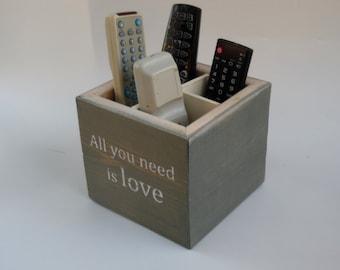 TV remote control box, storage box