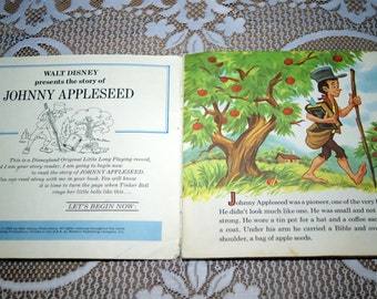 Johnny Appleseed - A Disneyland Record and Book #335