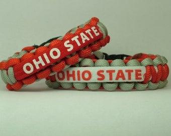 Ohio State Buckeyes NCAA Paracord Bracelet