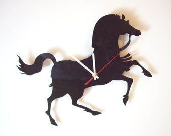 """Acrylic wall clock - """"Horse"""""""