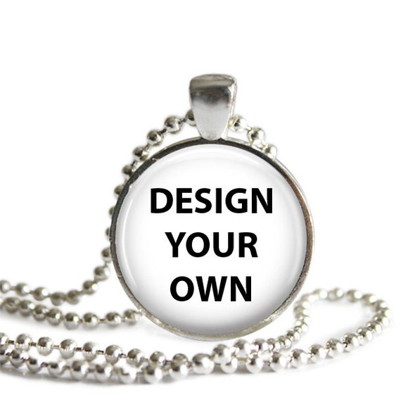 Design Your Own Photo or Picture Necklace by LifetimeCrafts2