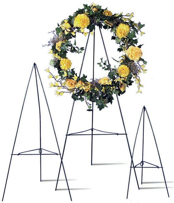Green Wire Easel Free Usa Shipping Tripod Stand Wreath Funeral